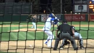 Yusniel Diaz of the Rancho Cucamonga Quakes (Dodgers)