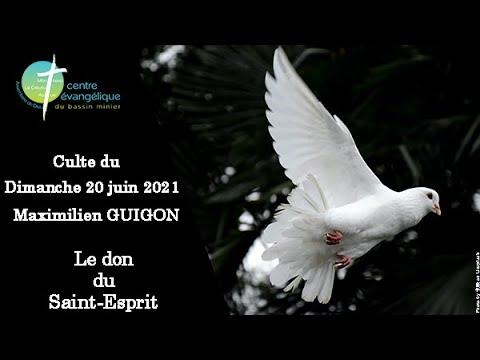 20210620 Culte au Creusot le don du Saint Esprit