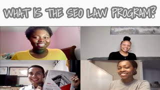 WHAT IS A SEO LAW FELLOW | WHAT TO DO THE SUMMER BEFORE LAW SCHOOL