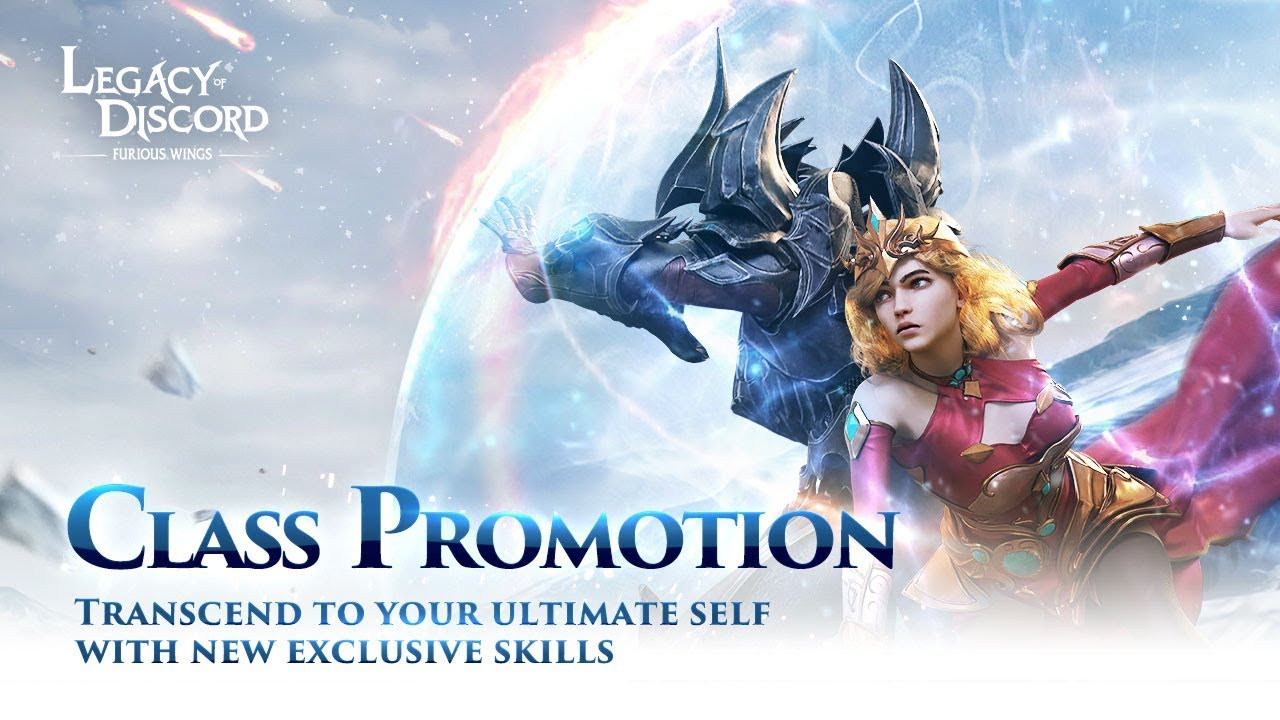 Legacy Of Discord How To Unlock Class Promotionskills Wrath Aura