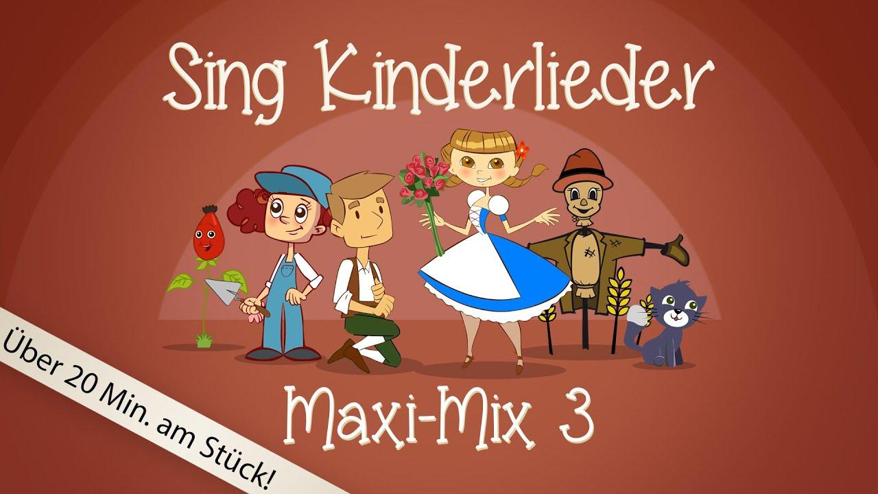 sing kinderlieder maxi mix 3 laurentia u v m. Black Bedroom Furniture Sets. Home Design Ideas
