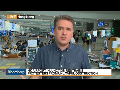 Hong Kong Airport Obtains Interim Injunction to Bar Protesters