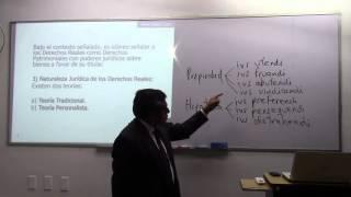 INDeJUR - Los Derechos Reales Principales y Desmembratorios