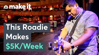 What It's Like Working Behind The Scenes As A Roadie WORKING!! 検索動画 33