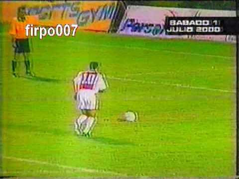L.A. FIRPO vs ADET La Final Clausura 2000 (01-07-2000) canal 4 Firpo Campeon