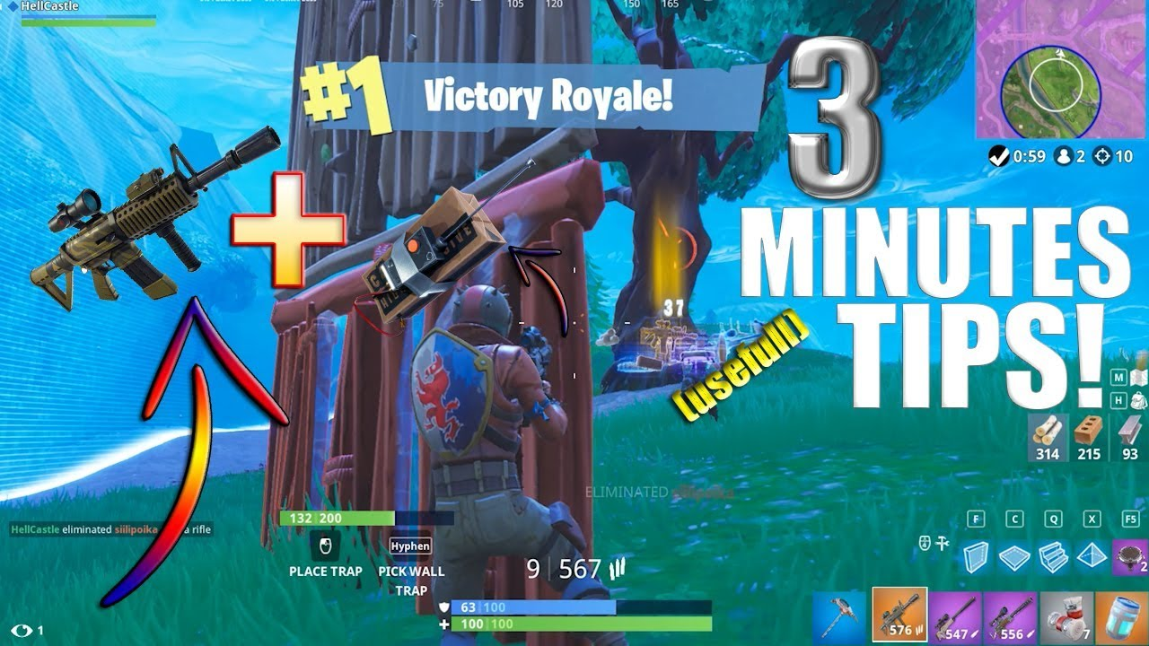 WIN ALL Sniper Shootout V3 games!3 Minutes USEFUL TIPS!//Fortnite ...