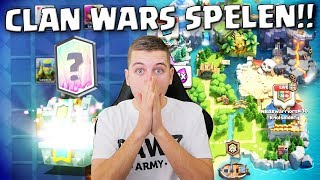 BESTE UPDATE OOIT! CLAN WARS SPELEN IN CLASH ROYALE!! NEDERLANDS