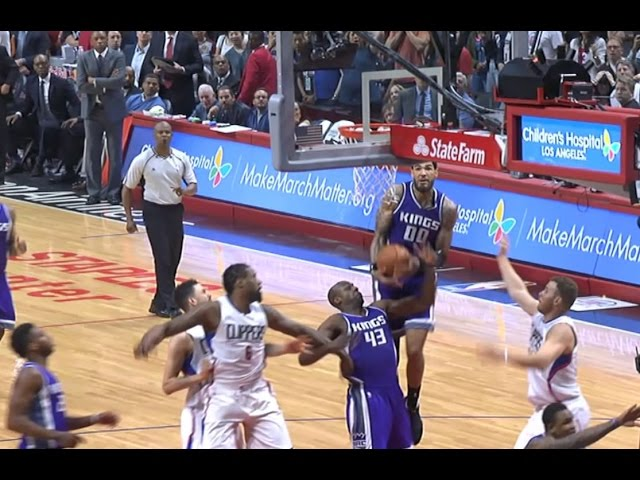 Willie Cauley-Stein Game-Winning Lay-Up Completes Comeback vs. Clippers | March 26, 2017