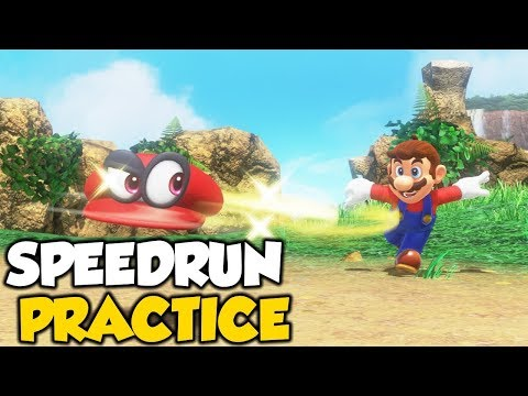 Aiming For PB | Super Mario Odyssey Speedrun