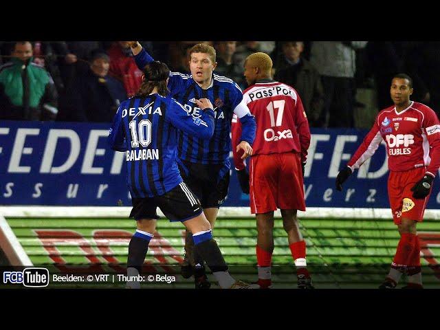 2005-2006 - Jupiler Pro League - 18. Excelsior Mouscron - Club Brugge 0-1