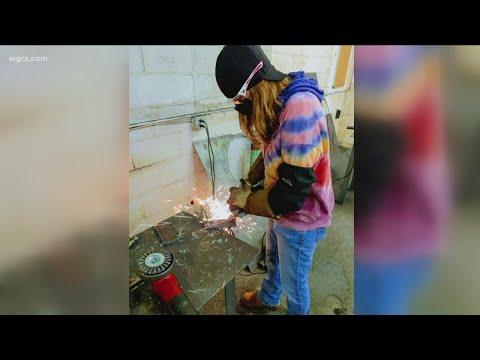 First woman graduates from welding program at Craft Technical School