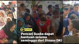 Pencari Suaka dapat bantuan selama seminggu dari Dinsos DKI