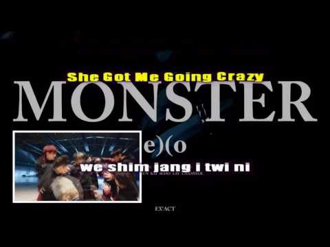 Monster - EXO (Karaoke/Instrumental)