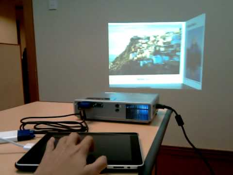 Connect Android to Projector via USB and Wireless