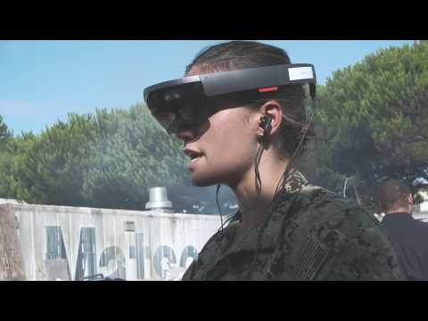Navy Medicine - HoloLens Gaming Tech Augmented Reality Trauma Training