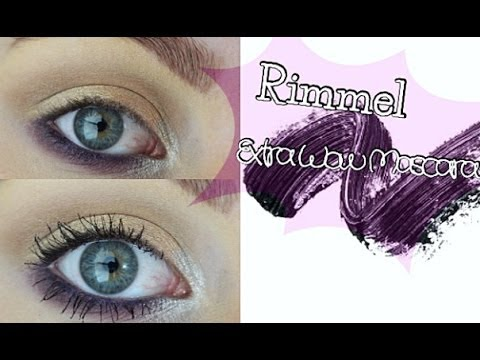 ce92445d197 Rimmel Extra Wow Mascara | Demo & Review - YouTube