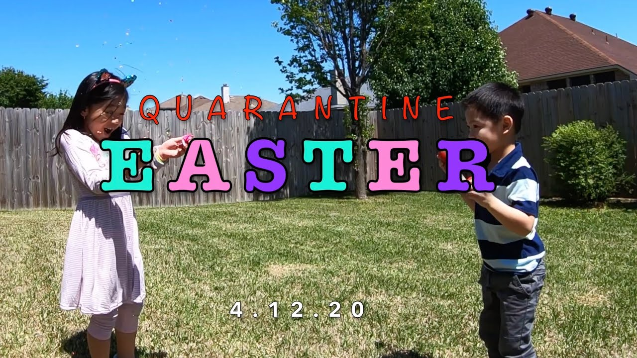 Quarantine Easter 2020 - YouTube