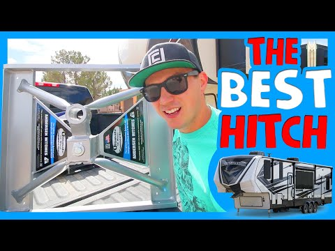 ⚙ THE BEST FIFTH WHEEL HITCH FOR SHORT BED TRUCKS 🛣 Anderson Hitch Install and Review