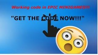 *ARBEIT* Code in EPIC MINIGAMES ROBLOX!!!