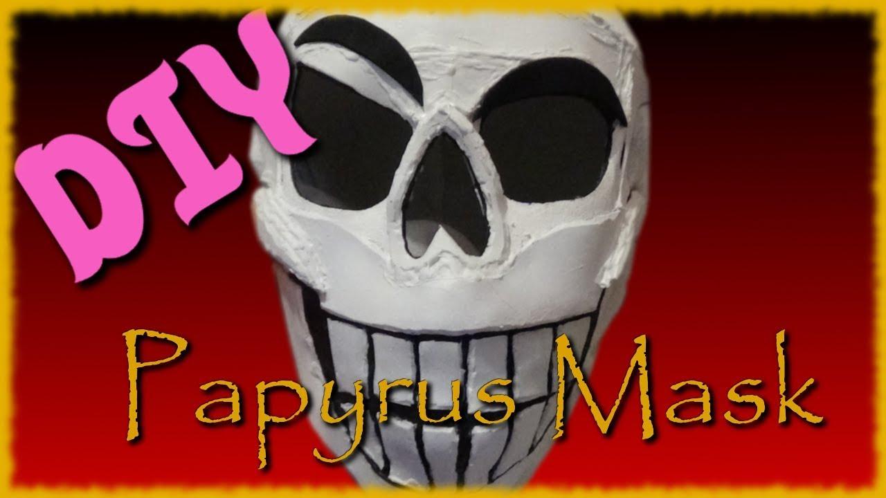 Diy Papyrus Mask Youtube