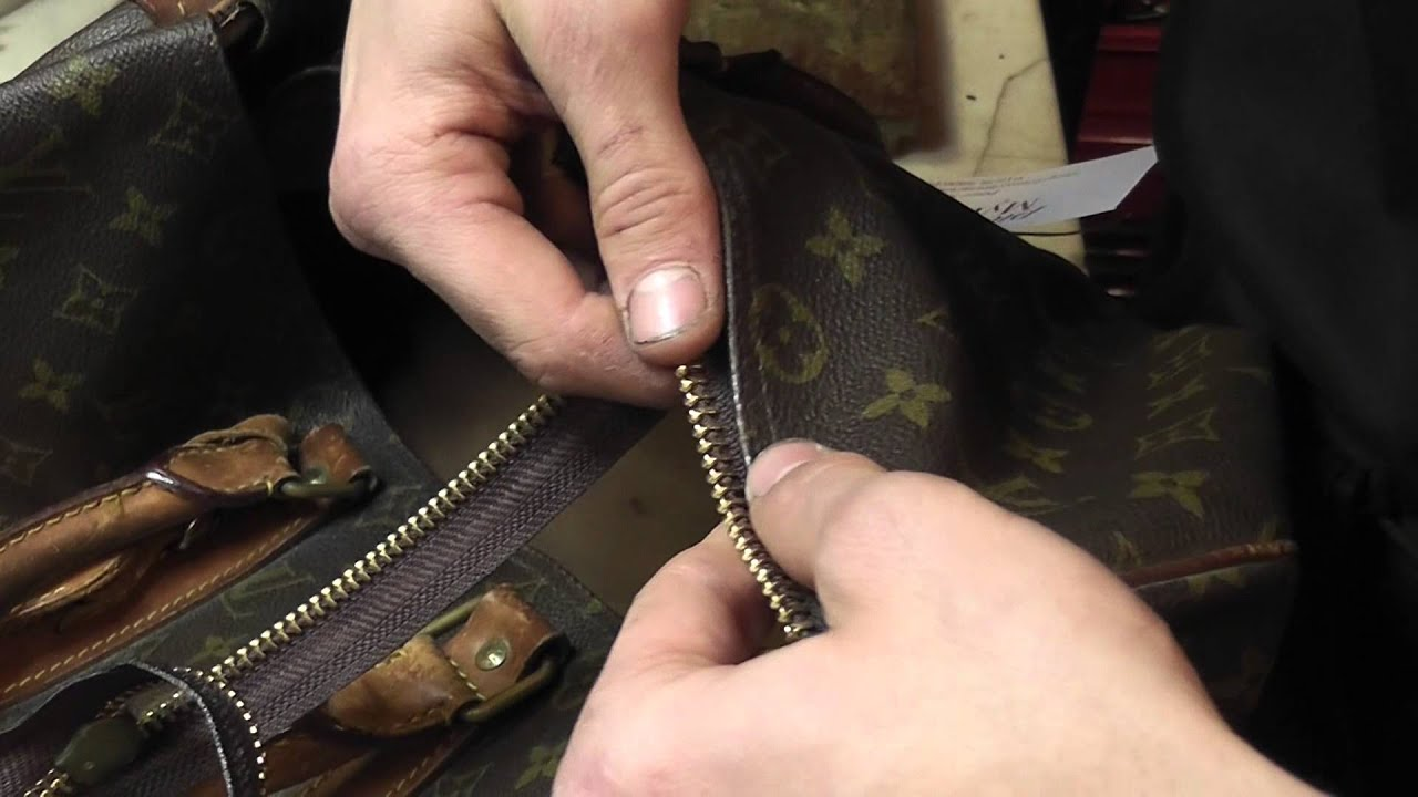 Louis Vuitton Handbag Repair New Zip