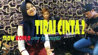dangdut koplo TIRAI CINTA 2 cover by ; puspita [ versi latihan ] STAR NADA music electone.