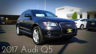 2017 Audi Q5  2.0 L Turbo 4-Cylinder Review