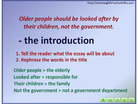 Essay Writing  Writing An Introduction  Youtube Essay Writing  Writing An Introduction