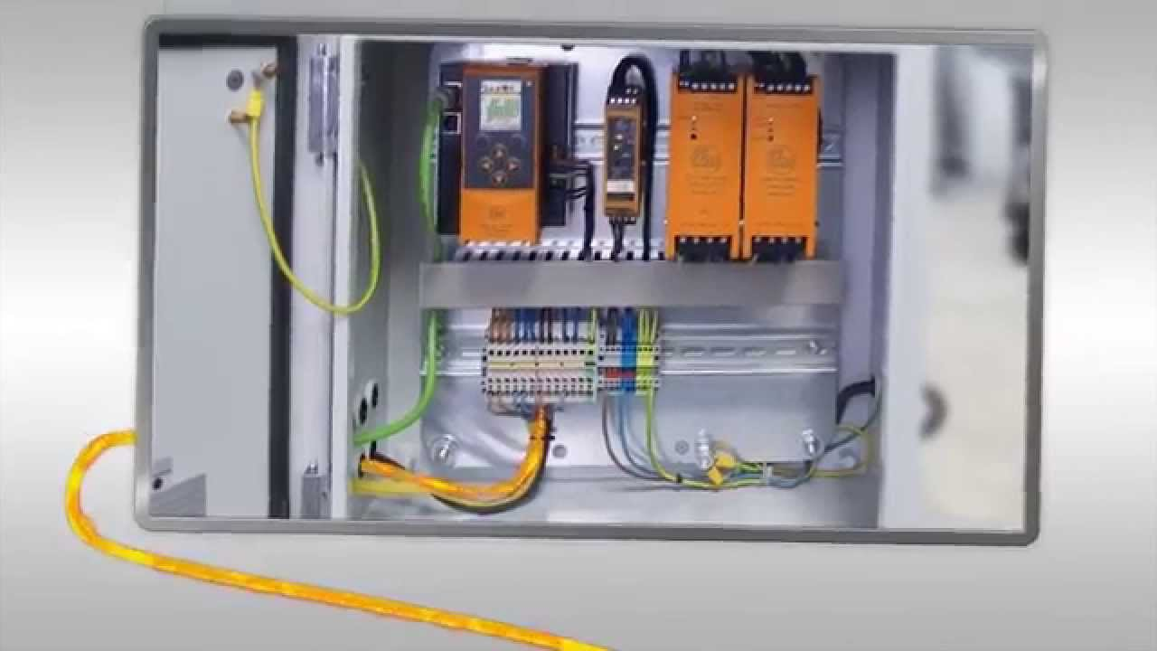 As-interface Instead Of Complex Wiring