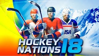 Hockey Nations 18 Android/iOS Gameplay (Gamepad supported)