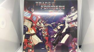 The Transformers score vinyl- LIVE Unboxing