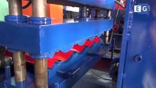 Производство металлочерепицы |