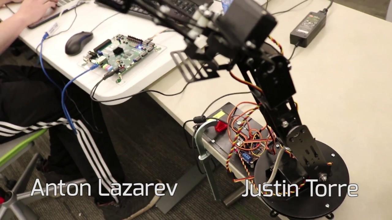 Voice Control of a Robotic Arm