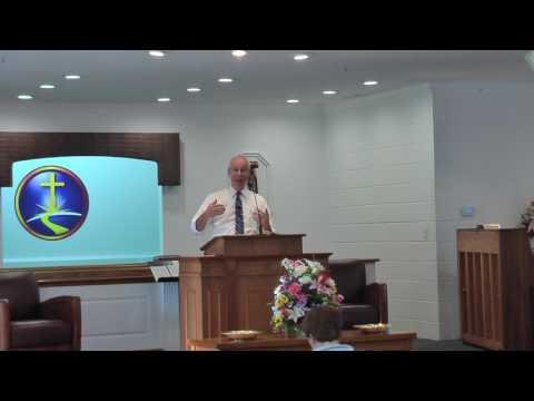 Pastor Jones 5 7 17 PM Service at Community Baptist Church, Ayden, NC