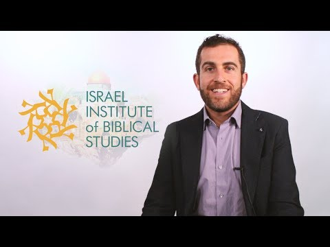 Welcome to the Israel Institute of Biblical Studies