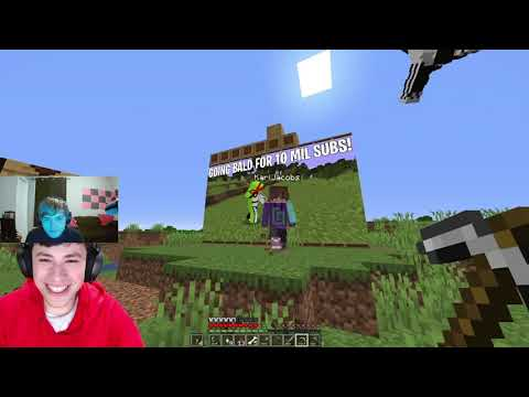 reacting to minecraft but if you laugh you lose
