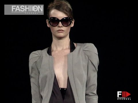 GIORGIO ARMANI Spring Summer 2010 Milan  – Fashion Channel