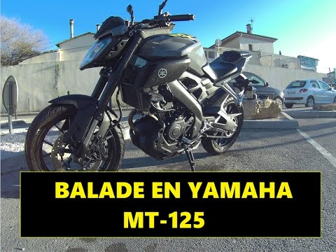 balade en yamaha mt 125 akrapovic youtube. Black Bedroom Furniture Sets. Home Design Ideas
