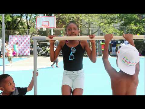 Last Day Of School Fitness Party™ at P.S. 298 / Brownsville Collaborative Middle School