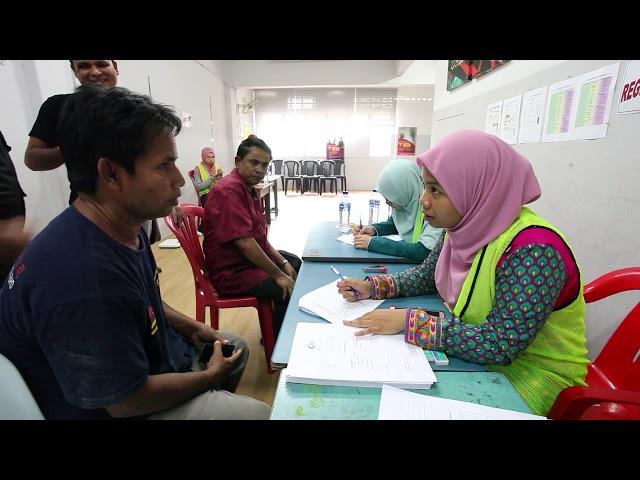 MRATV Kem Pemeriksaan Kesihatan Rohingya 2018
