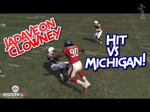 Madden 16 Challenge - CAN I RECREATE JADEVEON CLOWNEY