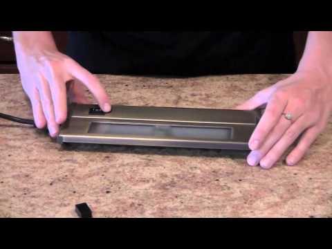 xenon line voltage thin under cabinet task lights