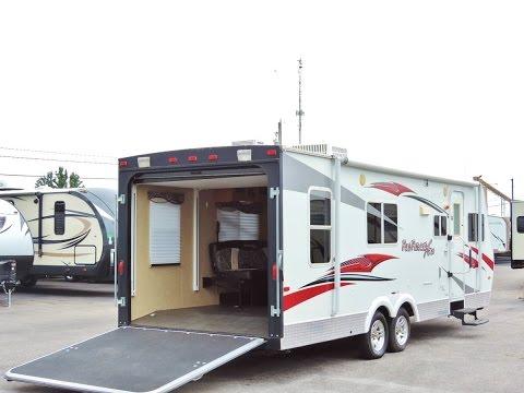 super-light-27'-2009-cruiser-fun-finder-xt245-toy-hauler-4,700-lbs!!!