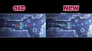 Biru Old/New Comparison (by JonathanGD) - Geometry Dash
