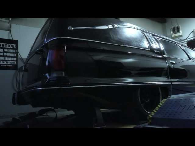 The World's Quickest and Fastest Hearse: AMS