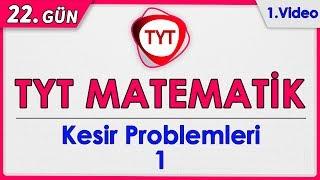 49 Günde TYT Matematik 22.Gün Kesir Problemleri 1 Rehber Matematik rmtayfa