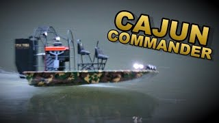 Cajun Commander Night Evening Run Led Lights - Aquacraft Rc Airboat - Thercsaylors