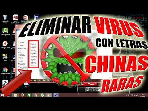 Remove Virus that Converts Files to Rare or Chinese Folders | NO PROGRAMS | 2017 |