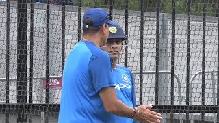 India train and look ahead to final ODI against Australia