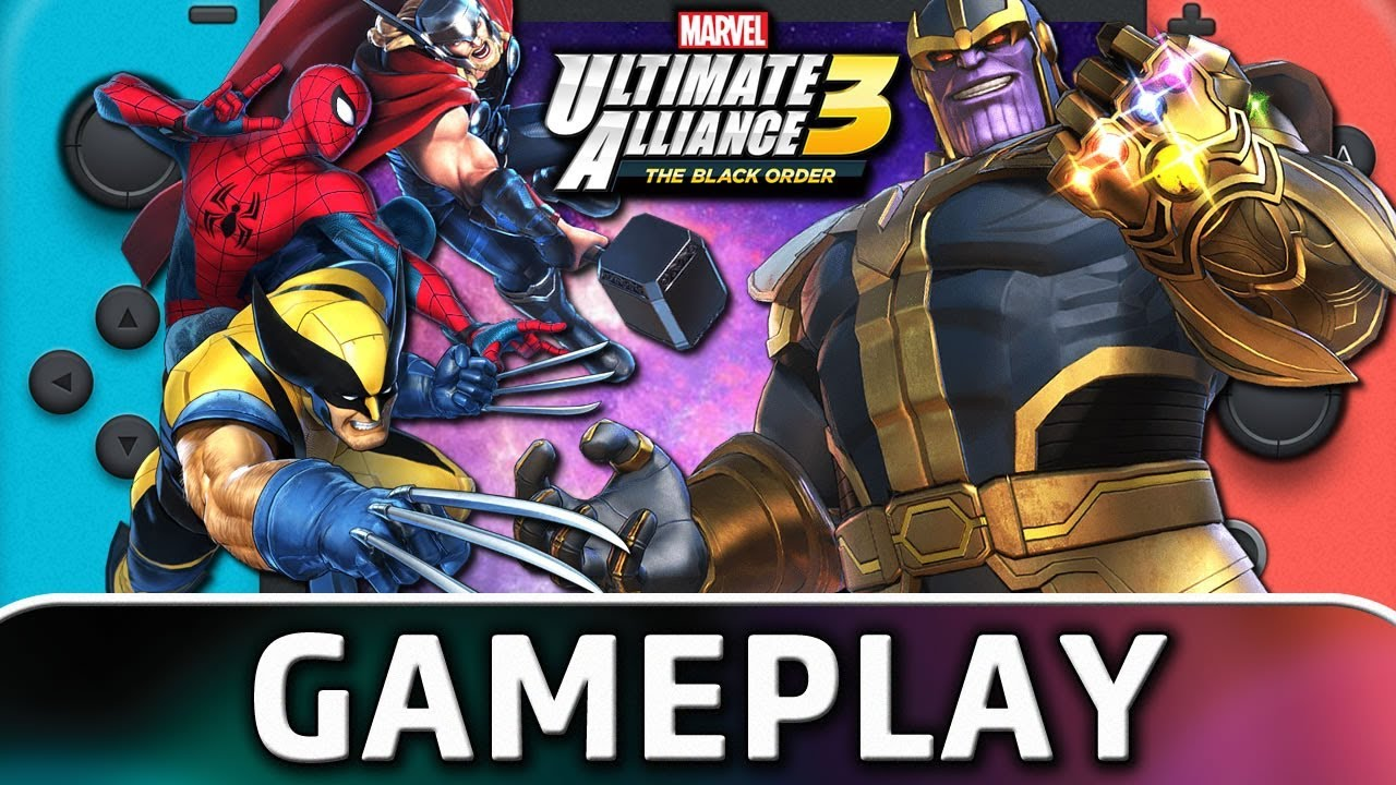 Marvel Ultimate Alliance 3: The Black Order | First 35 Minutes on Nintendo Switch